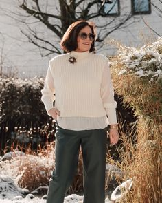 Pullunder Trends, Outfit, Personal Style, Normcore, Ruffle Blouse, Tops, Blog, Women, Fashion