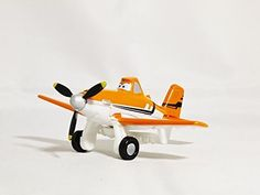 TOMICA Disney / PIXAR PLANES P-01 Dusty Crophopper Normal Version Air Tractor AT-502 Orange White Blue Color