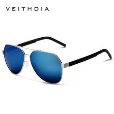 Aluminum Magnesium Men's Sunglasses Polarized Sports Blue Coating Mirror Driving Sun Glasses Eyewear Accessories For Men 3556