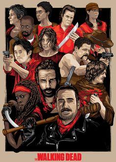 The Walking Dead Poster - Denis O'Sullivan