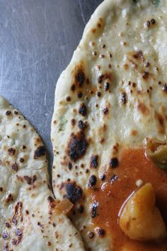 Naan Recipe / Naan Bread / Coriander Naan /  How to make Naan without Tandoor, Oven, Egg