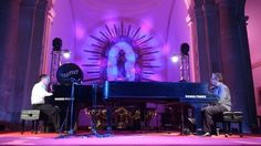 Concerto  Mário Laginha  e  Pedro Burmester  Mimo 2016  #mimo #mimo2016 #mimoolinda #olinda #pernambuco #igrejadasé #pedroburmester #mariolaginha #concerto #festival #music #piano #classical #lights #church #music