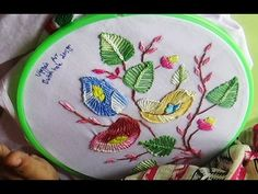 This video channel contains lot of Hand Embroidery work designs & paper…
