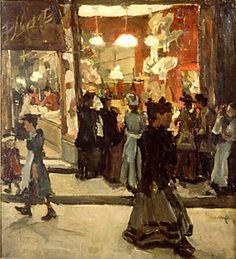 Isaac Lazarus Israëls (Dutch, 1865 - 1934)  Hatshop Isaac
