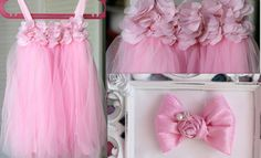 tutu girl outfit set..birthday outfit..pink by snazziebabyboutique, $34.00