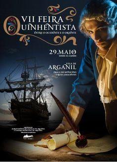 Cartaz da IIV Feira Medieval de Arganil. A Feira Quinhentista! Movies, Movie Posters, Medieval Fair, Posters, Fair Grounds, Films, Film Poster, Cinema, Movie