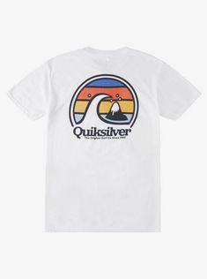 quiksilver, Sun Gazing T-Shirt, WHITE (wbb0)