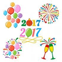 Happy New Year Pack SVG Cuttable Designs