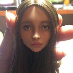 Очередная ипостась Бллдгуд. Не без ремолдинга, конечно / Another one character from Bloodgood (face shape was changed) #ooakdoll #olgakamenetskaya #artwork #art #doll #artdoll #monsterhighooak #cusgomdoll #ooakdoll #repaintdoll #portraitdoll #handpainted