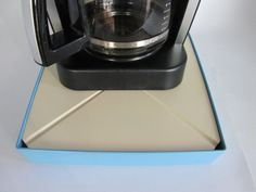 Has your coffee maker ever malfunctioned, overflowing coffee and grounds onto the counters making a big mess? Just-In-CaseDeck.com manufactures and sells a specialized platform that sits beneath your Coffee Maker. When an overflow occurs the liquid is captured in the Just in Case Deck. If you haven't had a opportunity please take a look at http://Just-In-CaseDeck.com  Best of wishes. Justin Case Deck Video http://youtu.be/9y-3y5fKDbY