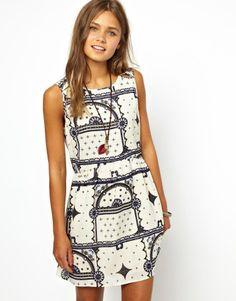 Insight Mystic Bandana Dress - White on shopstyle.com