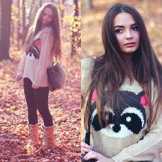 Romwe Sweater, Sorel Shoes