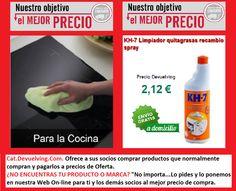Devuelving Tienda Online y Comercio por Internet: KH-7 Limpiador quitagrasas recambio spray