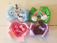 A Year of Hair Bows and Headbands Season of Hair by CorasCuties