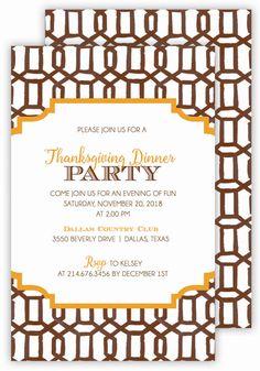 Brown Lattice Fall Invitation   Polka Dot #Fall Party Invitations