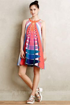 Aurae Swing Dress - anthropologie.com