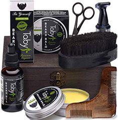Beard Grooming & Trimming Set for Men Best Beard Kit, Best Beard Balm, Beard Oil And Balm, Beard Gift Set, Beard Maintenance, Beard Grooming Kits, Men's Grooming, Natural Beard Oil, Wallpaper Aesthetic