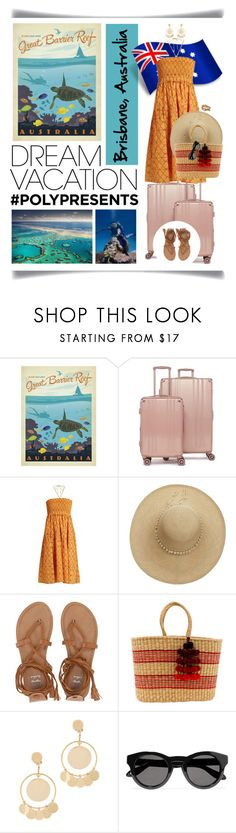 """#PolyPresents: Dream Vacation In Brisbane, Australia"" by ittie-kittie ❤ liked on Polyvore featuring CalPak, Reef, Apiece Apart, Sensi Studio, Billabong, Nannacay, Eddie Borgo, Givenchy, Alex and Ani and Australia"
