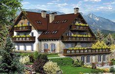 Projekt budynku komercyjnego posiadający 3 funkcje : hotelową, gastronomiczną oraz mieszkalną. W przyziemiu znajduje się mieszkanie właściciela.