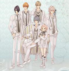 Azusa, Natsume, Ukyo, Louis, Iori & Wataru (Brothers Conflict)