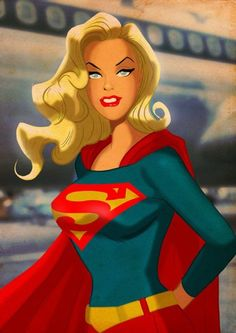 Artist Des Taylor has created this incredibly awesome series of retro style pin-up style pop art featuring several of our favorite superheroes. The series includes images of Superman, Batman, Wonder Woman, Sup Comic Book Characters, Comic Character, Comic Books Art, Comic Art, Supergirl Comic, Supergirl Drawing, Supergirl Series, Melissa Supergirl, Art Pop