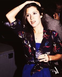 Carrie Fisher in 1982.