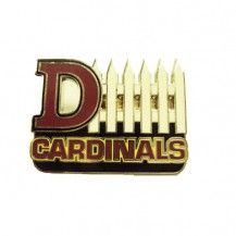 Who says a little attitude is bad?  Arizona Cardinals D-Fence pin.
