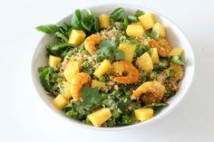 salade met mango en garnalen makkelijk recept eetclean.nl