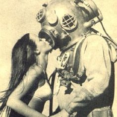 The Mermaid and the Diver.