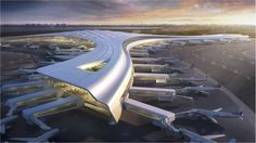 Dalian Terminal International Airport Competition – Lisa Om