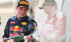 Max Verstappen became the youngest driver in history to win a grand prix after Lewis Hamilton and Nico Rosberg both crashed out on the opening lap Nico Rosberg, Red Bull F1 Drivers, Spanish Grand Prix, F1 Season, Ferrari F1, Red Bull Racing, Lewis Hamilton, World Of Sports, Verse