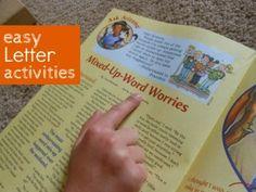Easy Letter Activities