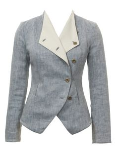 Next sewing project. Crossover Blazer from Burda Style
