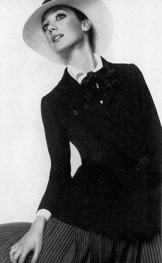 Marisa Berenson - 1968 Dior, UK Vogue