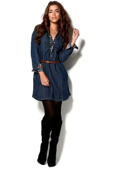 Denim Dresses For Women | Mexx Mexx Denim Dress - Bubbleroom