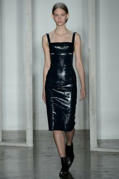 Dion Lee | Fall 2014 Ready-to-Wear Collection | Style.com [Photo: Yannis Vlamos / Indigitalimages.com]