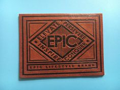 300 PU label PU patch Custom leather label by BespokeLabels