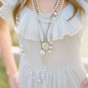 Pretty combo of necklaces!
