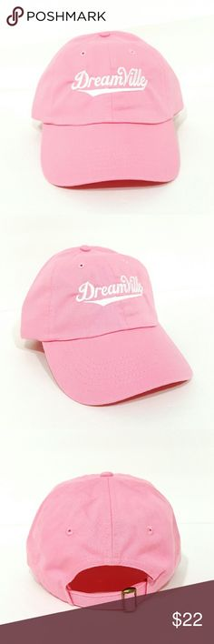 dreamville hat *pink* $$******READ DESCRIPTION*****$$  No I won't take $10   *Do not comment unless you're ready to buy with money in hand   *New adjustable hat   *If posted still available   *I ship next day if purchased before 5 PM on Sunday and 7.30 PM every other day, if purchased after hours it will be shipped the day after tomorrow   *Shipping takes 5-7days please don't rate based off shipping speeding i don't control USPS   *Trusted seller buy with confidence. Accessories Hats