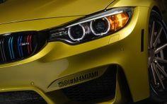 WALLPAPERS HD: BMW M4 Austin Yellow
