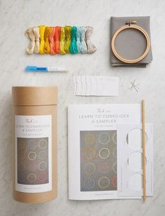 Learn to Embroider a