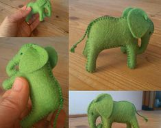 Natural toys wool felt animals role play Waldorf eco by Felthorses Toys For Girls, Gifts For Boys, Sewing Stuffed Animals, Felt Gifts, How To Make Toys, Natural Toys, Baby Elephant, Stuffed Elephant, Sock Animals