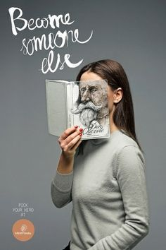 Creative Bookstore Ads - My Modern Metropolis / pinned on Toby Designs