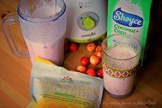Smoothie de Cereja - http://gostinhos.com/smoothie-de-cereja/