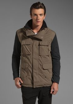 KAI-AAKMANN Parka Coat in Olive at Revolve Clothing