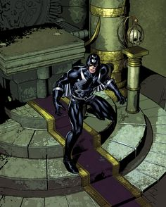 Black Bolt by Mike Deodato, Jr.