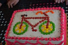 Moore babies: {Bike Birthday Party} The Cake