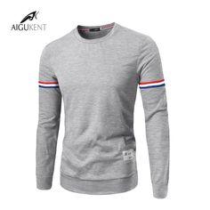 2016 Nuevas Llegadas de Los Hombres Ropa Camisetas de Moda Pliegue palacio Mangas Resistentes Correas Decoración de Los Hombres de Color Sólido Camiseta
