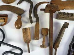 Online veilinghuis Catawiki: Groot lot divers antiek gereedschap en bouwmaterialen