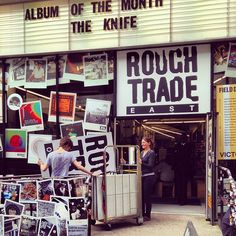 Rough Trade East record shop in Shoreditch, Greater London